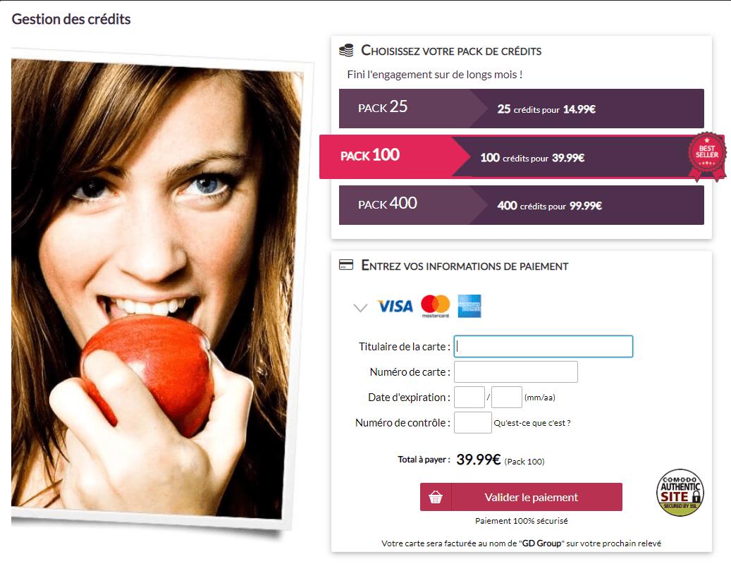 Site de rencontres gratuit sans mise à niveau