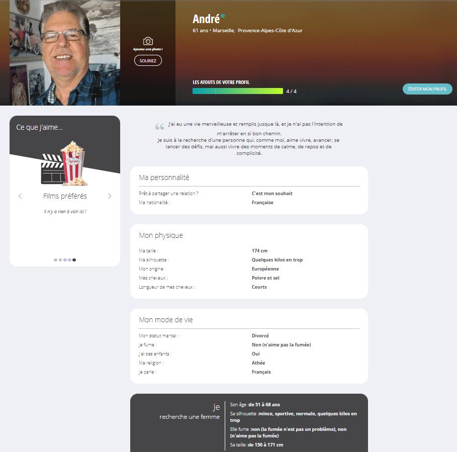 Mon profil sur DisonsDemain